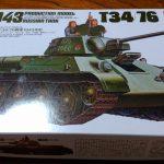 もみじさんの戦車プラモ作成記 その⑦ ~T-34/76 1943年型を組み立てました~
