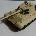 もみじさんの戦車プラモ作成記 その⑧ ~キングタイガー(ティーガーⅡ)アルデンヌ戦線ver.を組み立てました~