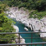四連休で高知へ旅行してきました ③四万十川と沈下橋と大歩危峠と帰路